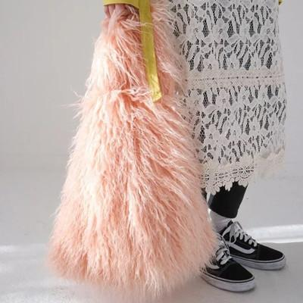 Winter Casual Tote faux fur Women Plush Shoulder Bags Female Handbags Ladies High Capacity Totes Woman Luxury Bolsa Feminina