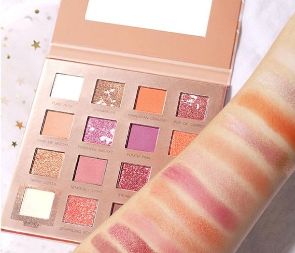 top popular New Eye Makeup Eyeshadow 16 colors Palette Shimmer Matte Eye shadow Pro Eyes Makeup Cosmetics 2020