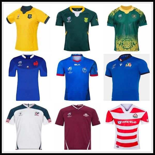 best selling 2019 Japan World Cup USA Italy rugby shirt Georgia RWC rugby Jerseys Rugby League Australia South Africa shirts