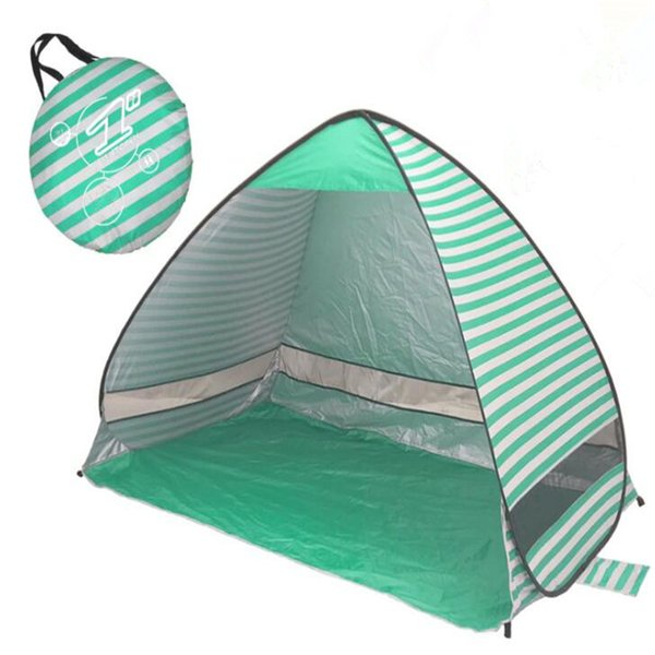Sunshine Tents Outdoor Gear Hiking Camping Shelters 50+ UV Protection Tent for Beach Travel Lawn With Carry Bag Nail CTS001