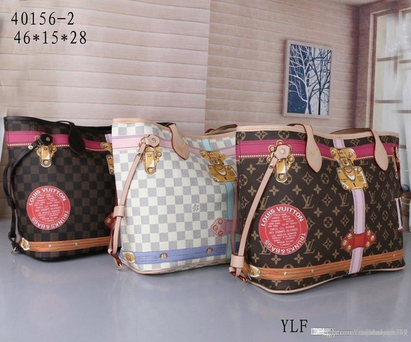 2 шт. Набор высокое качество классический дизайн женские сумки цветок дамы композитный тотализатор искусственная кожа сцепления сумки на ремне женский кошелек с кошельком