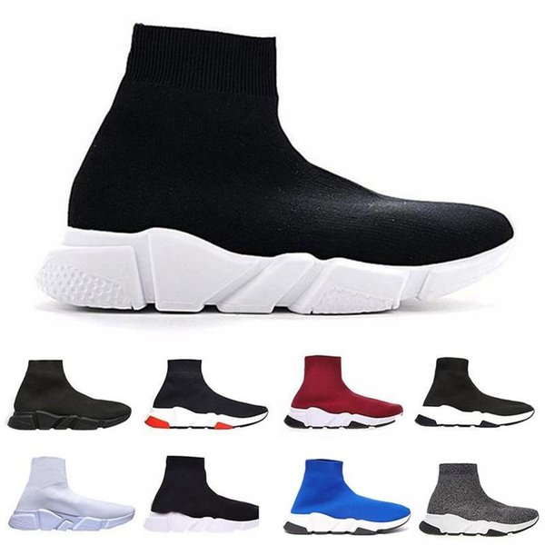 High Quality Luxury Socks Shoes Speed Trainer Sneakers Speed Trainer Sock Race Runners fashion luxury mens women designer sandals shoes