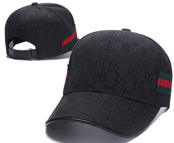 Papá de lujo Sombreros de diseño Béisbol G G Gorra para hombres y mujeres Marcas famosas Algodón Cráneo ajustable Deporte Golf Sombrero curvo Gorros deportivos 01