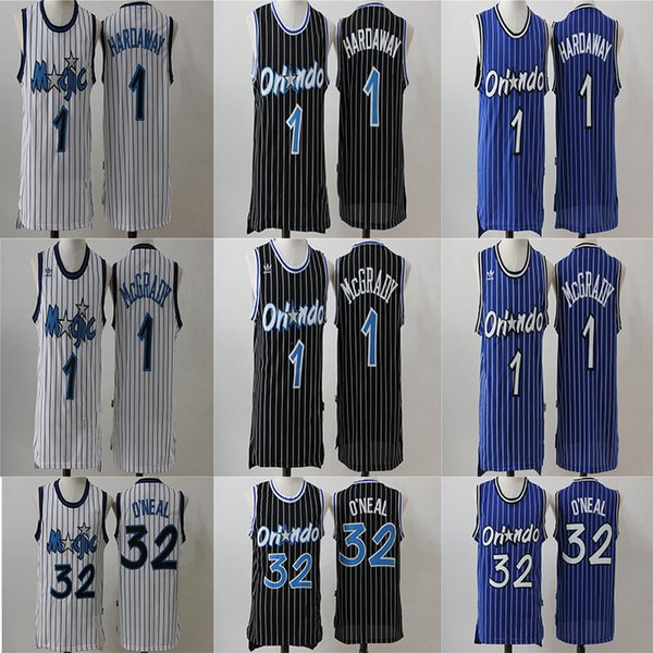 hot sale online 56082 ac37f 2019 Orlando 32 Shaquille Magics Penny 1 Hardaway McGrady 1 ...