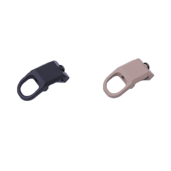 Tático Sling Mount Sling Giratória Adaptador de Montagem de Loop Botão QD Mount Para KeyMod / M-LOK Handguard Rail Attachment