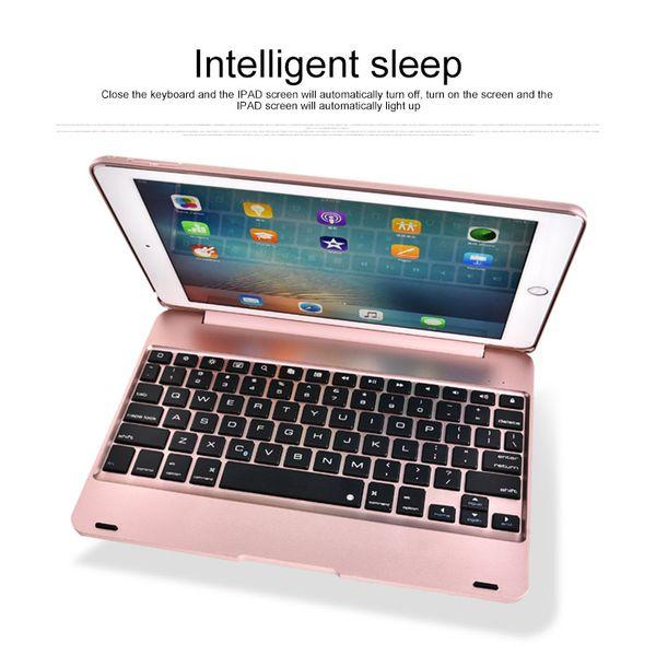 Беспроводная клавиатура Обложка чехол для IPad 9.7 для IPad 1 2 Stand Shell Bluetooth Автоматическое подключение клавиатуры Bluetooth