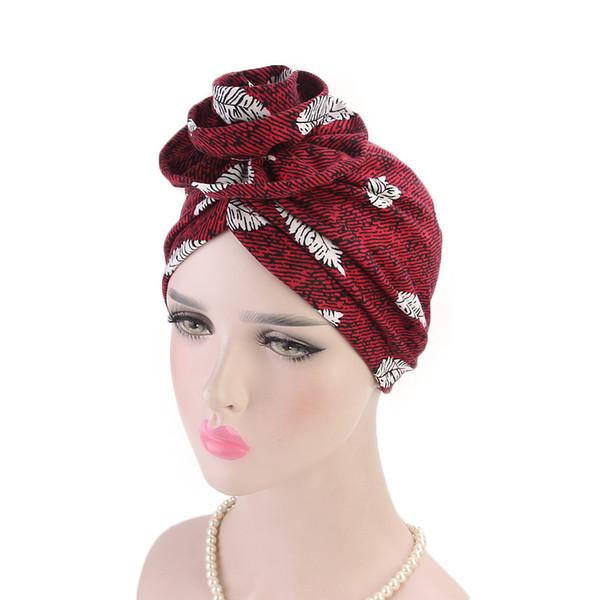 New Elegant Women Soft 3D Flower Cotton Turban Hat Cancer Chemo Beanies Caps Headwear Headwrap Hair Loss Accessories