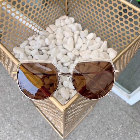 luxury designer women and men sunglasses Korean version of the round face trendy sunglasses hot sale