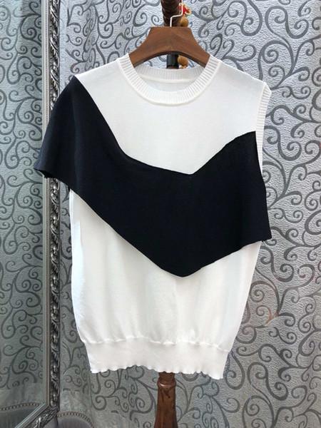 La nueva blusa sin mangas de desgaste de mujer 2019.