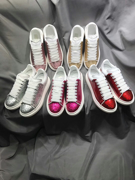 Name Brand Casual Shoe Man Red Bottom Sneaker Flat New Designer Lace Up High Top Mixed Colors Black White Trainers gp18121241