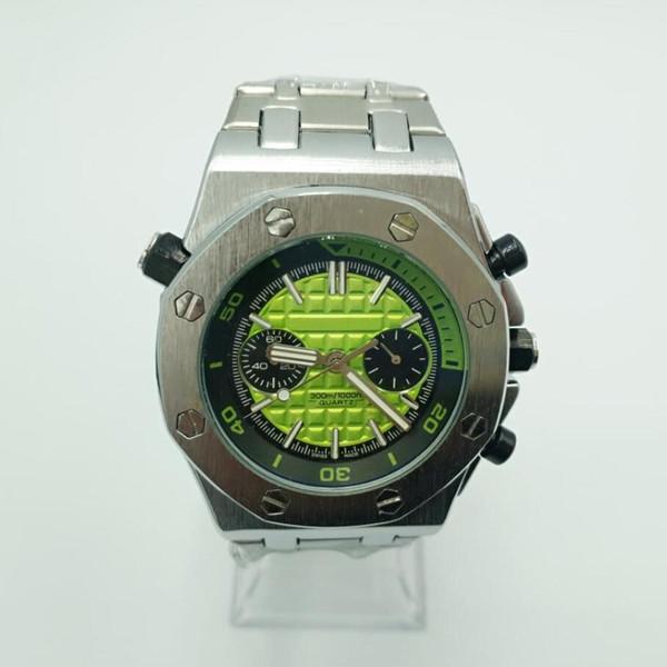 Montres AAA De Luxe Hommes Royal Oak Offshore Plein Fonction Chronographe Quartz En Acier Inoxydable Sport Marque Designer Montres-Bracelets