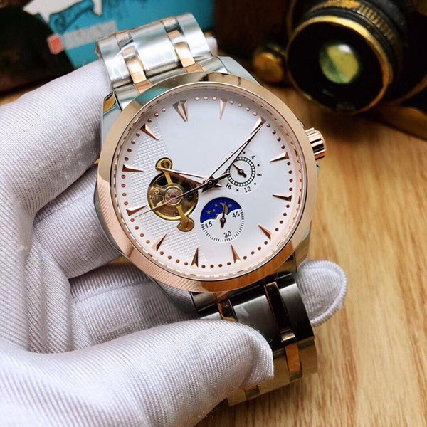 Top Ceramic Bezel Mens Watches Mechanical Stainless Steel Automatic Movement designer Watch Sports Self-wind Watches master Wristwatches