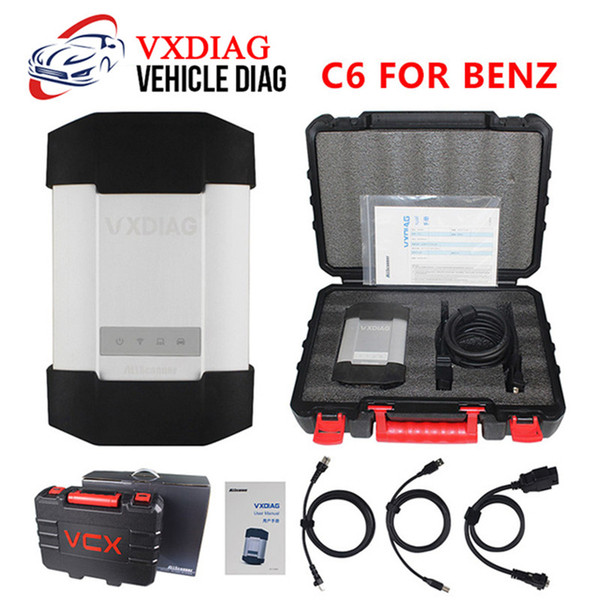 VXDIAG C6 Diagnostic Tool For Benz Powerful Than Mb Star C4 C5 C6 With HDD For XENTRY Diagnosis DoIP For Benz Scanner