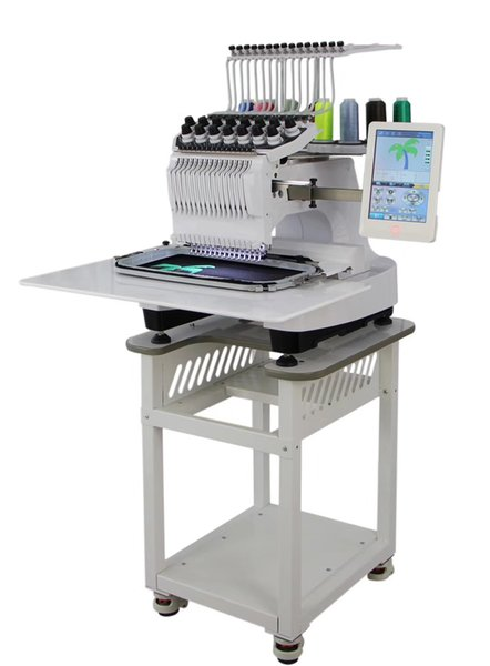SN-1500 Newest Dahao control photo and pet name Single head 15 colours commercial computerized embroidery machine