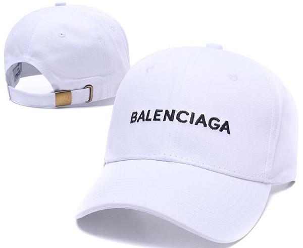 Diseñador de París estilo de las mujeres de algodón Adjustbale gorra de béisbol para hombres adultos mujeres Casquette Summer Beach Caps Visor Sports Race sombreros gorras hueso