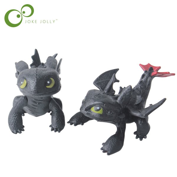 toy How To Train Your Toy Action Figures Night Fury Toothless PVC Dragon Children Brinquedos Kids Toys Juguetes china