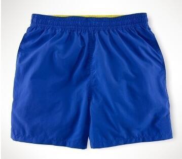 Atacado Pólo Shorts sólidos para Homens Pequeno Pônei Impressão Moda Meninos Clássicos Board Trunks Quick Dry Praia Calças Curtas Verde Cáqui Preto