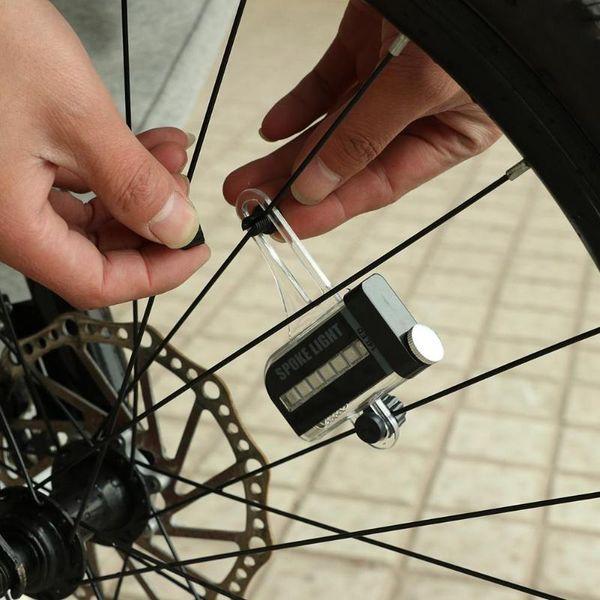 Bicycle Motorcycle Bike Tyre Tire Wheel Valve 8LED Flash Spoke Light Lamp 3Mode#