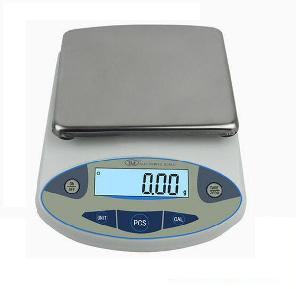 Freeshipping High Precision Electronic Balance Laboratory Weighing Industrial Scale 10kg*0.1g