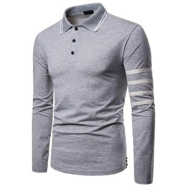 2019 fashion cotton men clothes new men merino wool long sleeve shirt base layer crew outdoor sport thumbnail