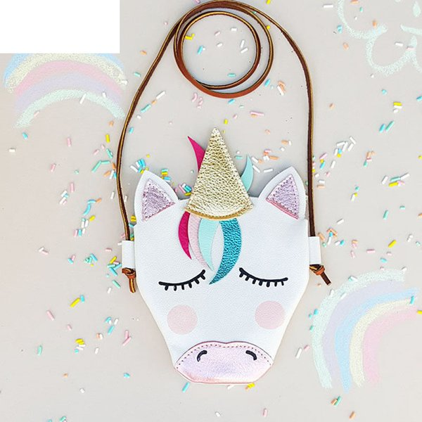 good quality New Kids Girl Handbag Baby Mini Coin Purse Cute Children Cartoon Shoulder Bag School Bag For Party Birthday Gift