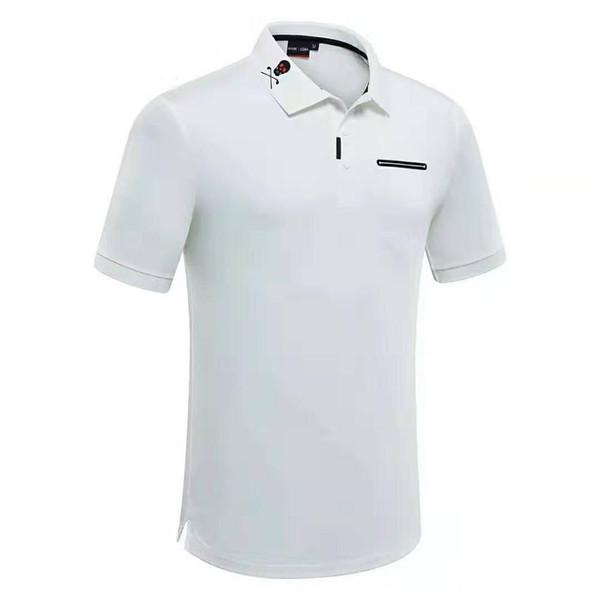 Nuevos hombres Mark Lona Skull Golf Trainning Camisetas Verano Quick Dry Golf Sport Short S-XXXL tamaño Camisetas