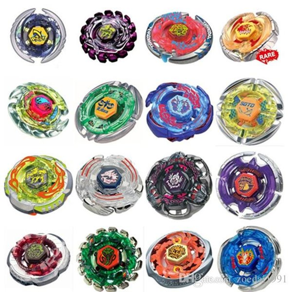 top popular 24Style Beyblade Metal Fusion Metal Masters 4D Beyblades Without Launcher with original box 2019