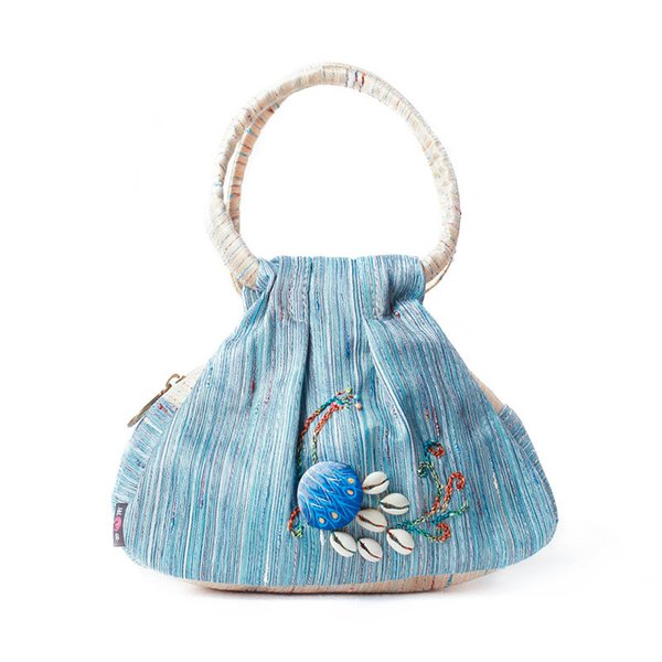 Womens Peacock Embroidery Clutch Bags Bohemian Lady Canvas Mini Bags Casual Handbags Wallets Tote Bags Vintage Purse Pouch