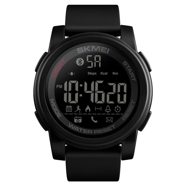 2019 SKMEI Homens LED Relógio Digital Relógios Desportivos 50 M À Prova D 'Água Relógios de Pulso Cronógrafo Rastreador De Fitness Relogio masculino 1442