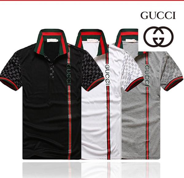 Kot ABD Erkek Çizgili T shirt Yaz Moda Nakış Tasarımcısı Kısa kollu Giyim Tops Tees