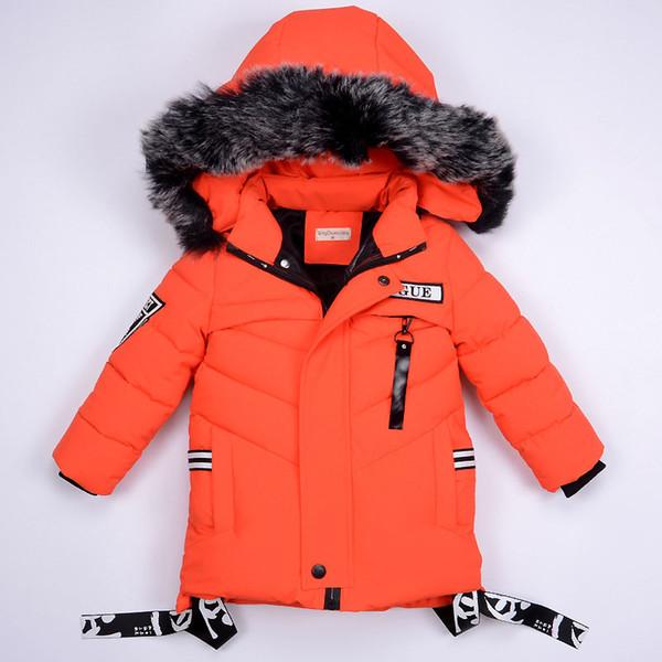 Children Boys Winter Jacket Kids Parkas 2019 Winter Spring Baby Outerwear Overalls Snowsuit Boy Fashion Hooded Warm Down Coat