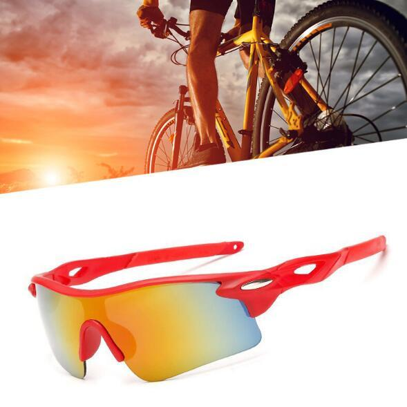 summer Riding sunglasses men women newest style SUN glasses Bicycle Glass NICE sports sunglasses Dazzle colour glasses Night Vision Goggles