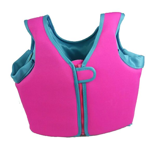 2017 New Kids Life Jacket Vest Boys Girls For Boating, Surfing, Sailing, Fishing, Drifting Children Swimming Tops Clothes DDO