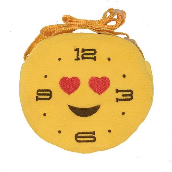 HOT Circular Women Shoulder Bag Nylon Women's Crossbody Messenger Bags cartoon Emoji Ladies Purse Female Round Bolsa Handbag