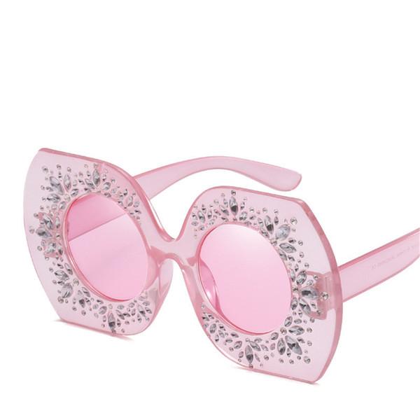 Big Frame Lady Sunglasses Luxury Charming Glasses Brand Designer Street Party Sunglasses High Quality UV Protection Fashion Women Eyewear