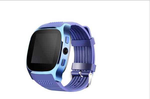 With Camera Bluetooth T8 Smart Watches Pedometer GSM SIM Sports Fitness Waterproof Wrist Watch for IPhone Samsung Phone