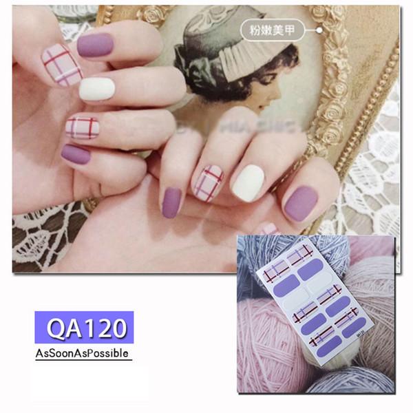 Мода Бронзировать 3D ногти наклейки для ногтей Таблички водонепроницаемых наклеек Дизайна Gel Валентина Маникюр Comestics Женщины Макияж