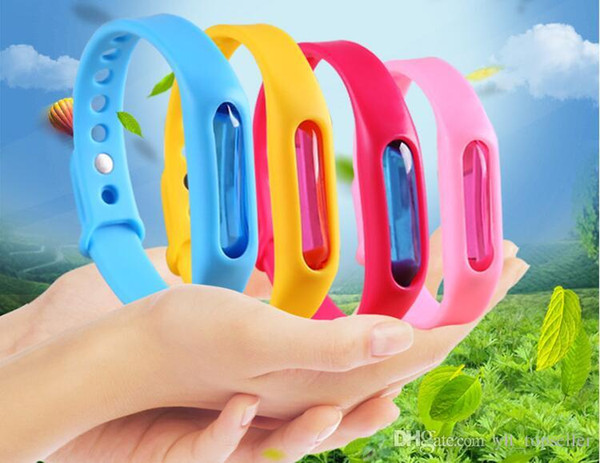 top popular 20pcs Anti Mosquito Pest Insect Bugs Repellent Repeller Wrist Band Bracelet Wristband Protection mosquito Deet-free non-toxic Safe Bracelet 2019