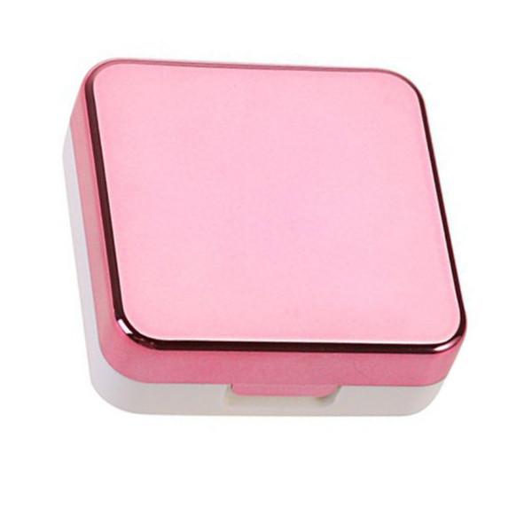 Lentes de contato Caixa de armazenamento Lentes de contato Caixa de caixas Olhos Cuidado Kit de suporte Arruela Cleaner