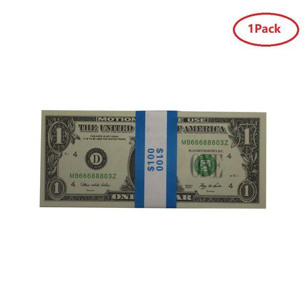 1 упаковка 1 dolars (100шт)