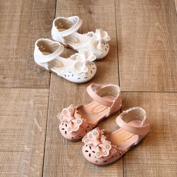 Infants Sandals Toddler Shoes 2020 Spring Summer Baby Girl Student Half Sandal Girls Princess Shoes