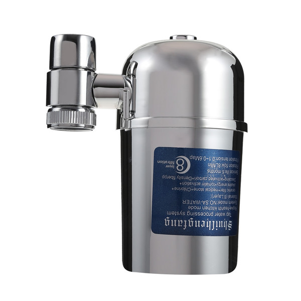 top popular Household Water Filter Made of ABS material, and with perfect plated zinc surface 2021