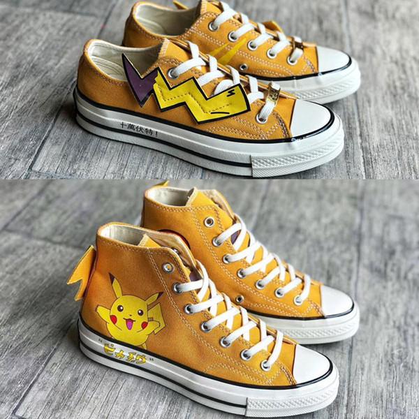 2019 nuevos zapatos de lona Fujiwara x DSM x nbsppokemons 1970 lightning CGD Hiroshi Fujiwara diseñador tamaño original 35-44