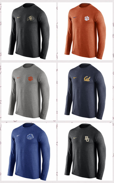 Colorado Buffaloes Baylor Bears Boise State Broncos Cal Bears Clemson Tigers Stadium Touch Long Sleeve Top