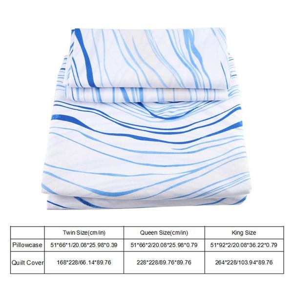 3 Adet Yumuşak Sağlıklı ve Rahat Mikrofiber Nevresim Seti Polyester Yatak Seti