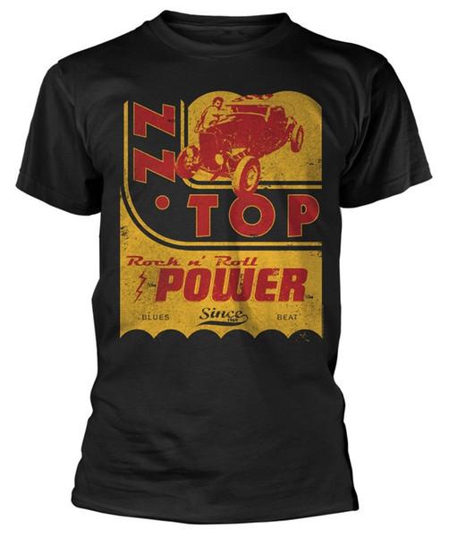 ZZ Top 'Power' T-Shirt - NEW & OFFICIAL