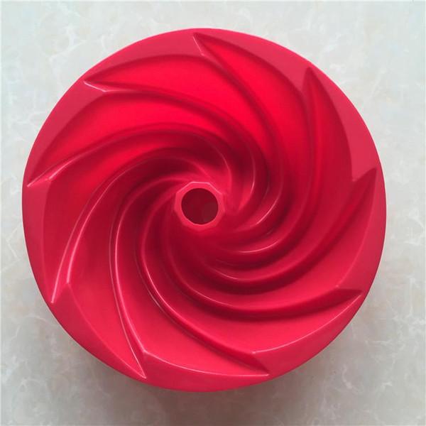 1 Pz Stampo per torta a spirale Stampo per tortiera in chiffon di grandi dimensioni Stampo per torta Buon compleanno Stampo per cioccolato in chiffon Savarin