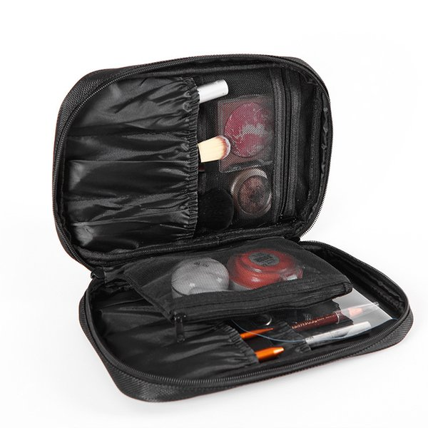 Waterproof Portable Makeup Bag Brush Eyebrow Eyeliner Storage Bags Cosmetic Bag Beauty Case Travel Organizer Washing Pouch CN212