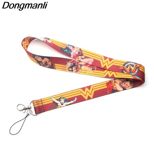 P3378 Dongmanli Keychain Lanyards Id Badge Holder ID Card Pass Gym Handy USB Badge Holder Schlüsselband