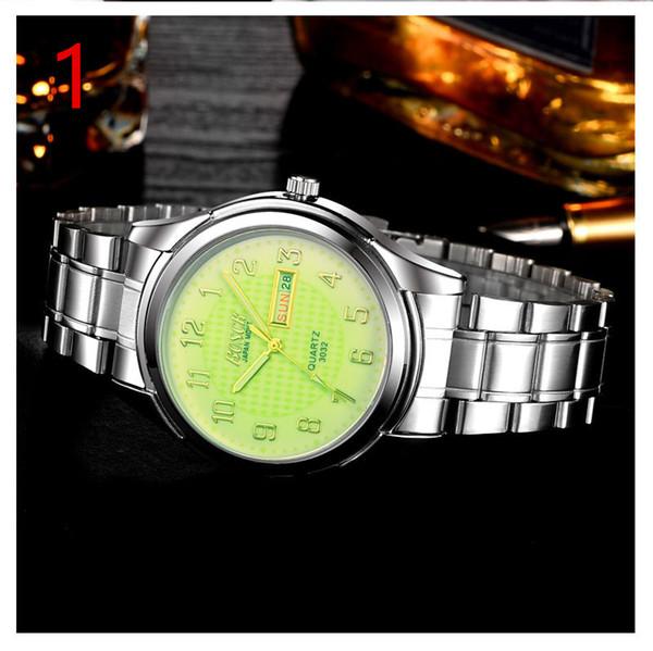 relógio de quartzo moda masculina é elegante e simples de negócios de lazer assistir 96